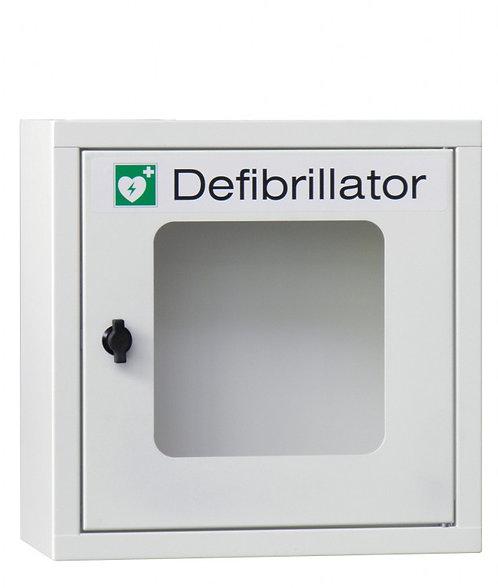 Metallwandschrank für Defibrillatoren