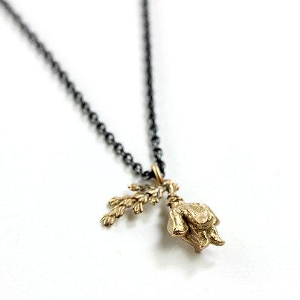 Delicate Cedar Sprig Necklace