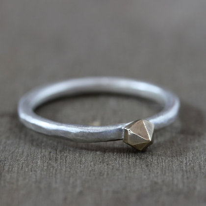 Herkimer Stud Ring