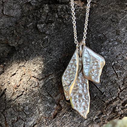 Mongolian River Pebble Necklace