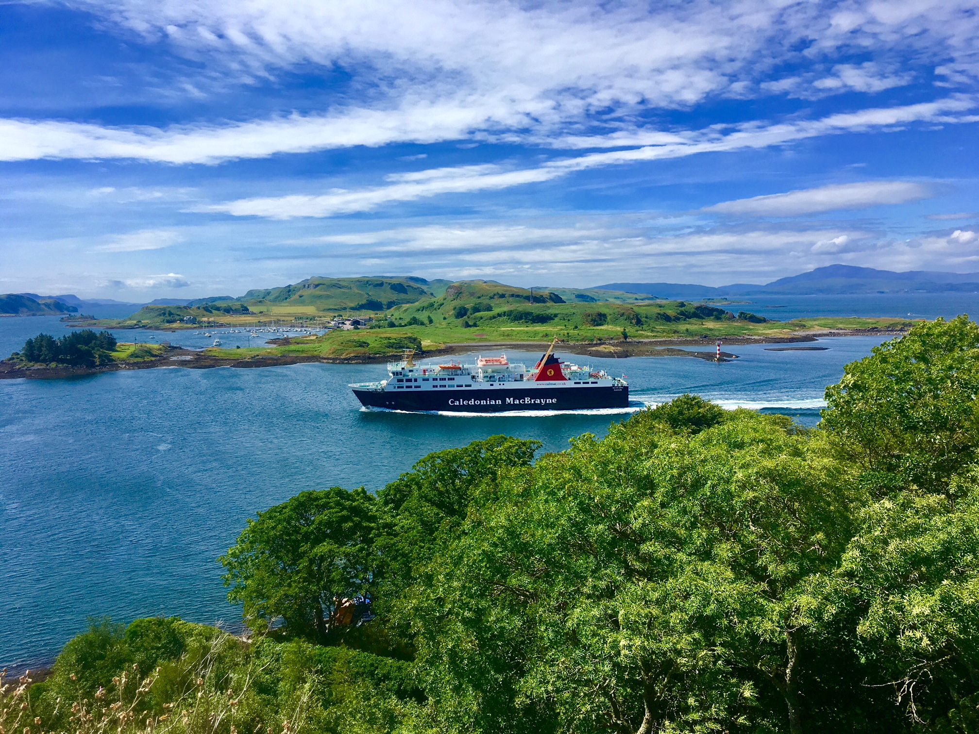 Oban and Dunollie