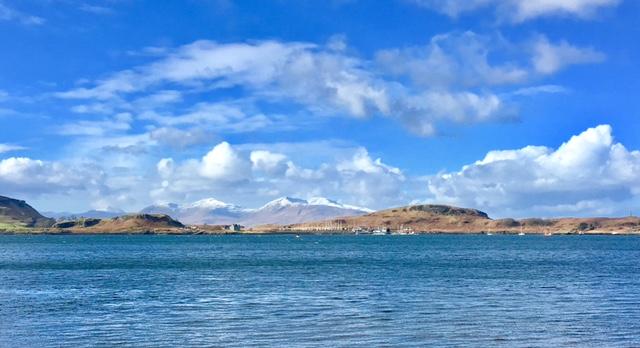 Oban towards Island of Mull