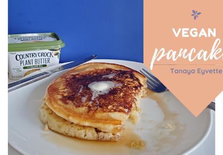 DELICIOUS #Vegan Pancakes... Makes you wanna slap yo mama!