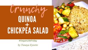 Easy (and delicious) Crunchy Quinoa & Chickpea Salad