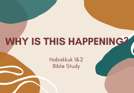 Habakkuk teaches us about the destruction of injustice