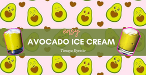 Easy Avocado Ice Cream