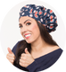 An Interview with TIARA Shower Cap®	 Inventor Zuly Matallana