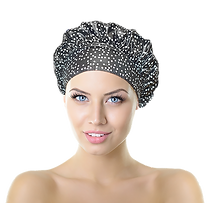 premium kitsch cap luxury blushdot showercap caps shower