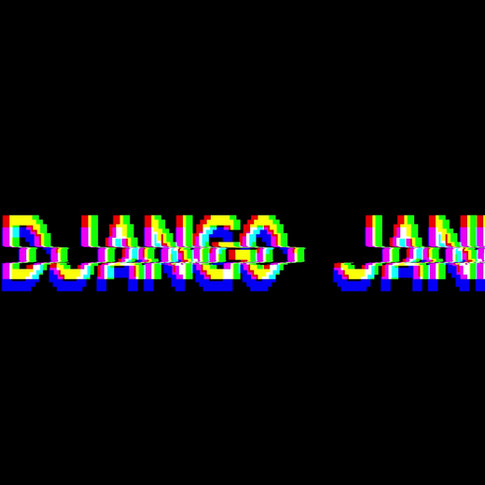 Django Jane Glitched Typography