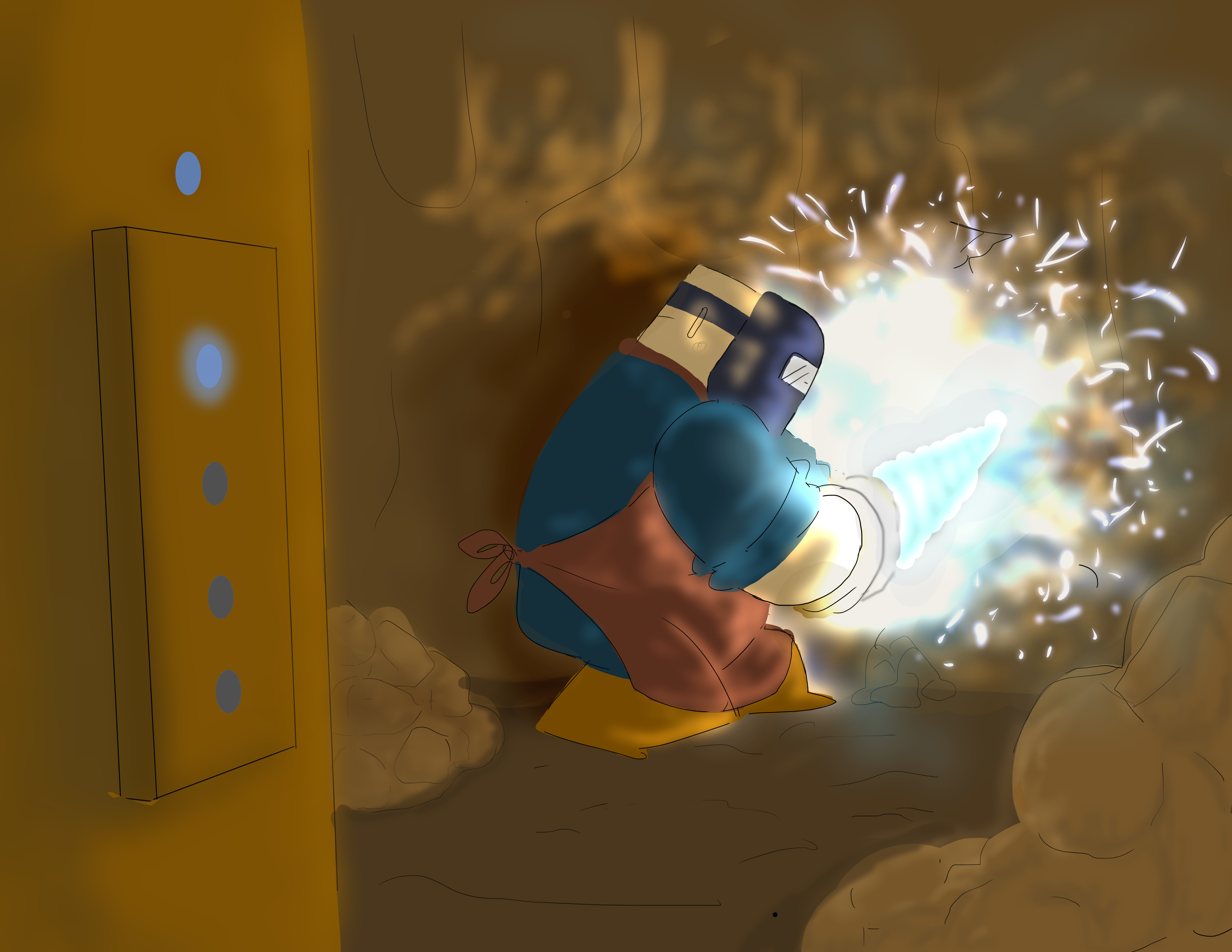 Miner Mishap poster