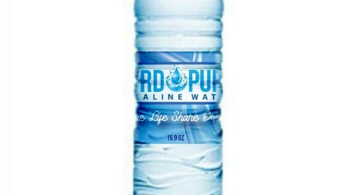 Hyrdopure Alkaline water case of 24 bottles 16.9oz