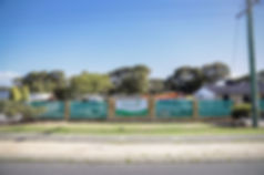 Front fence of the Bloom Early Educatin Yanchep Service