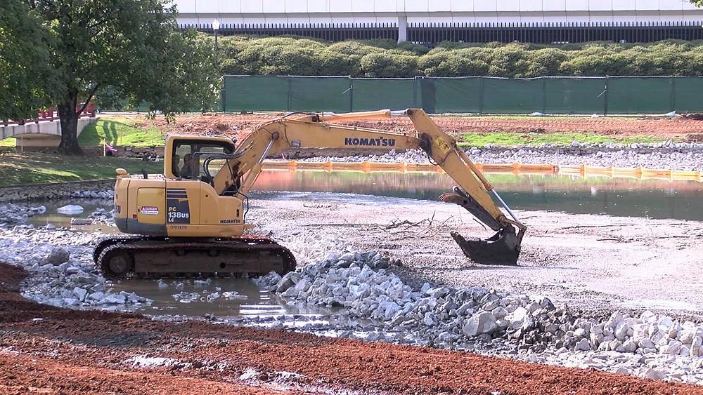 Big Spring Park Construction