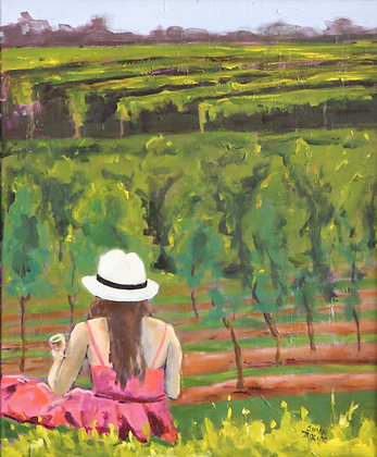 Chillin in the Vineyard - SOLD