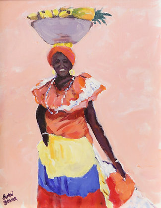 Dominican Woman - SOLD
