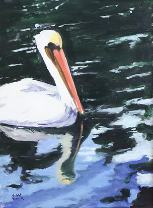 """Pete"" the Pelican - SOLD"