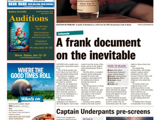 ARTICLE: A frank document on the inevitable