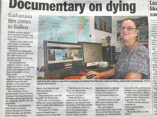 ARTICLE: Documentary on dying