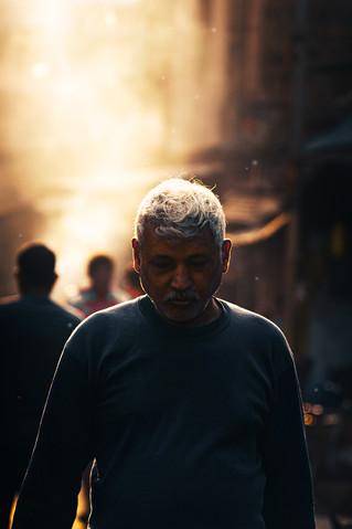 Portrait at Morning Market