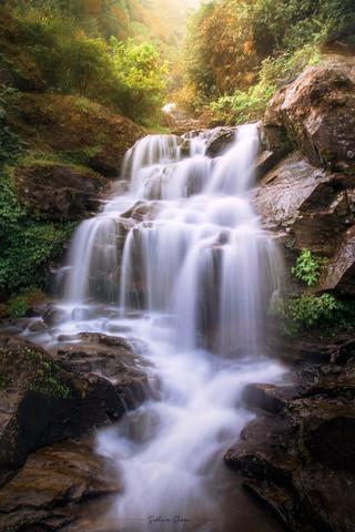Rock Garden Waterfalls, Darjeeling