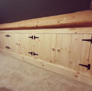 Under eaves storage