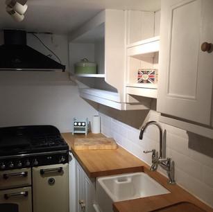 White pine kitchen