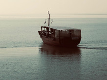 The Sea of Galilee - a Pilgrims boat 2019.jpg