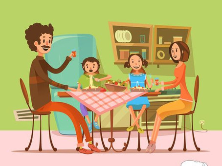 מתי בפעם האחרונה ישבתם כל המשפחה ביחד לארוחת ערב סביב השולחן ?