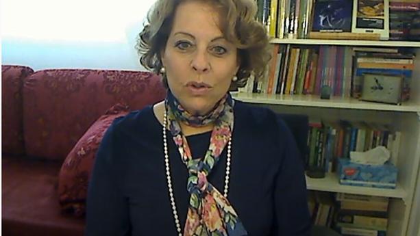 מוניקה וורשהיימר מבאנוס איירס מרצה במרכז מאי 2019