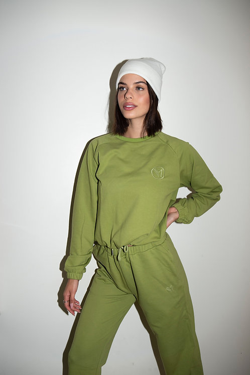 Emalya - Pants (Olive Green)