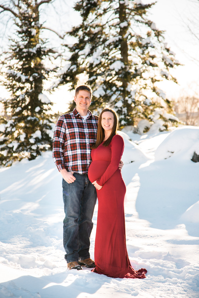 Jason & Ashley's Maternity