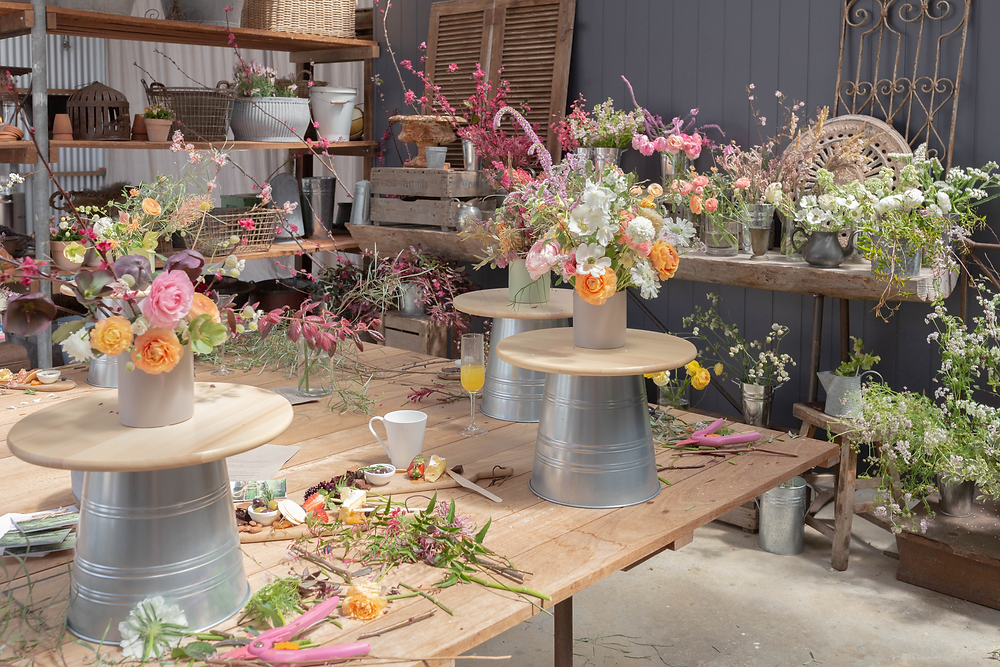 Floral Design Workshop for floral enthusiasts at Riverdale Farm