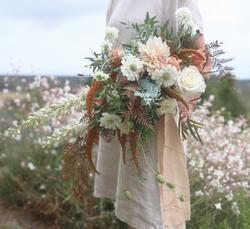Bridal bouquet by Albany florist Helen L