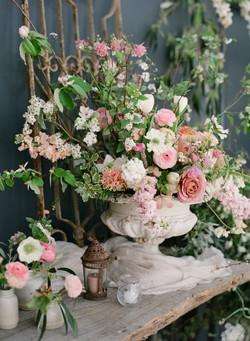 Garden urn arrangement