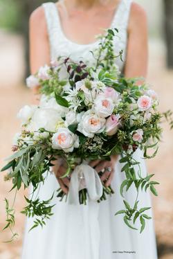 Adrian and Sam's Wedding bouquet