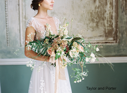 Bridal bouquet from Litha Workshop