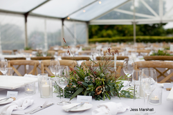 Native foliage table centres