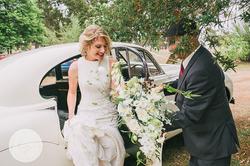 Bridal bouquet by Helen Leighton