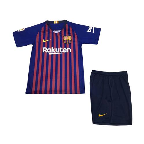 best cheap d0aae 86881 Junior Barcelona 2018/19 Home Kit