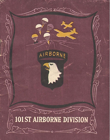 101st airborne infantry book cover US WW