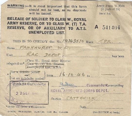 Pankhurst WL 14343570 pankhurst dogtags