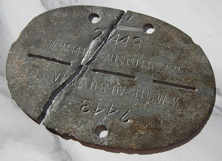 dump digging relic hunting extreme WW1 W