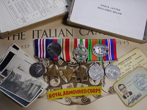 durant military medal RAC RTR mackay ext
