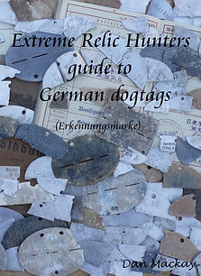 extreme relic hunters guide to German dogtags book