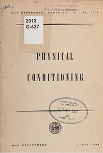 DA-PAM 21-9 Physical Conditioning, 1944.