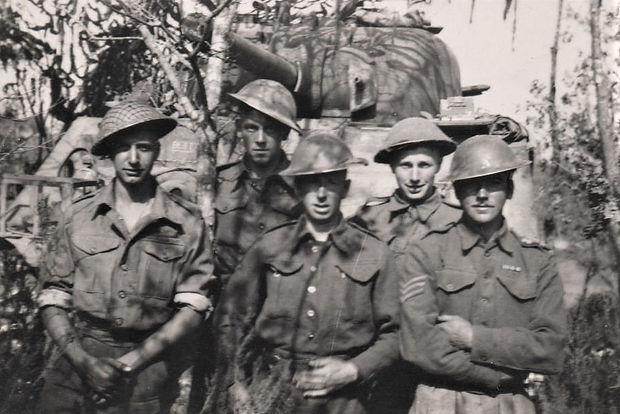 Anzio - February 1944 - Sgt Herbert's Cr
