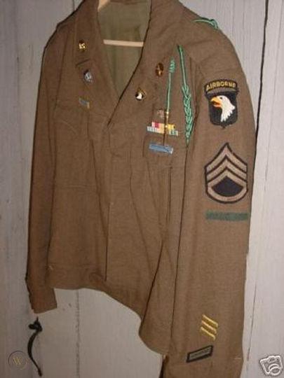 rare-ike-jacket-101st-airborne-size-44l-