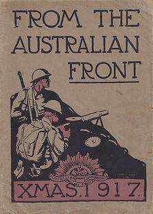 australia xmas 1917 ww1 front infantry c