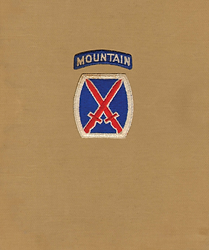 10th division US mountain history story
