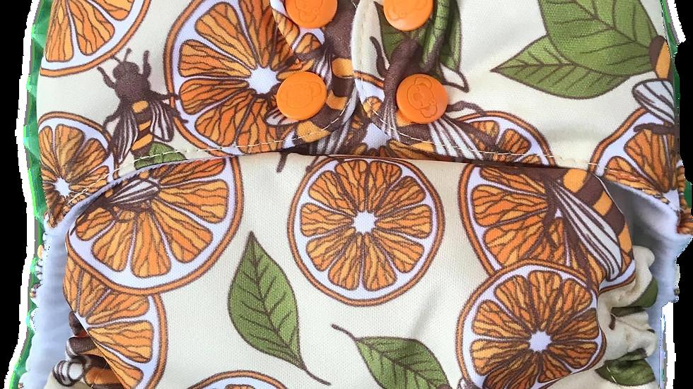 Naranjas y abejas